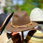 Rieten hoed zijn van Azië
